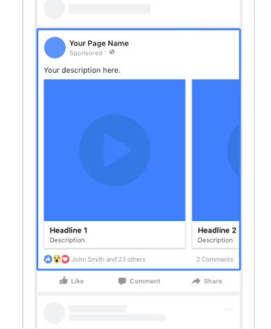 quảng cáo video trên facebook adsota